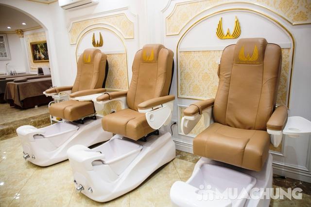 Sơn móng cao cấp CND Vinylux ngồi ghế massage lưng - 52