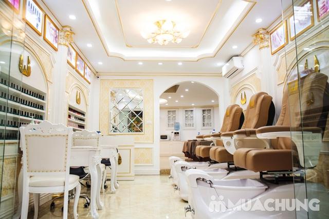Sơn móng cao cấp CND Vinylux ngồi ghế massage lưng - 43