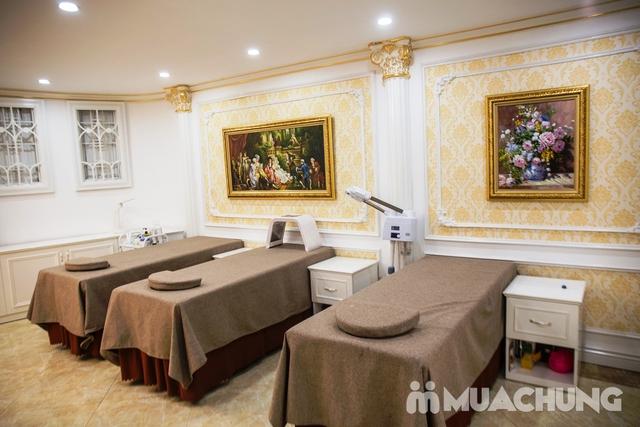 Sơn móng cao cấp CND Vinylux ngồi ghế massage lưng - 45