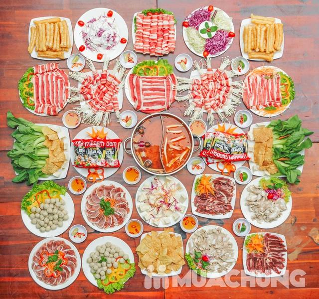 Buffet lẩu ăn thả ga Nhà hàng T - House menu 119K - 4