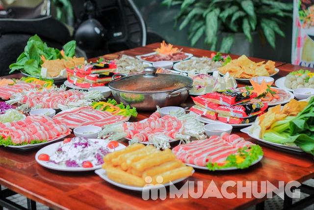 Buffet lẩu ăn thả ga Nhà hàng T - House menu 139K - 4