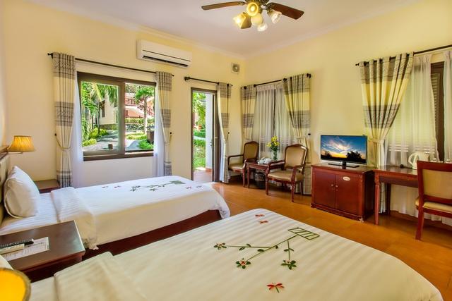 Tropical Beach Hội An Resort 4* - Phòng Superior Garden view - 4
