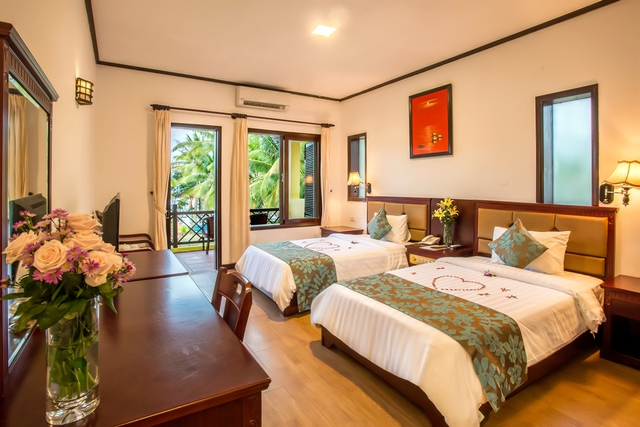 Tropical Beach Hội An Resort 4* - Phòng Superior Garden view - 11