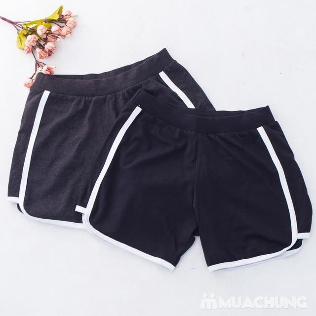02 quần sooc nữ chất cotton thoáng mát - hàng VN  - 9