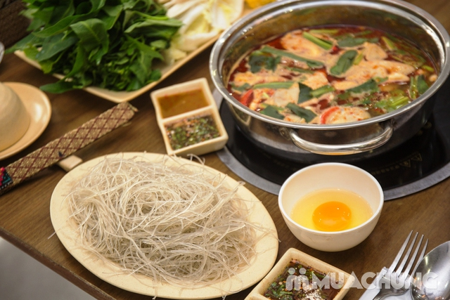 Lẩu Thái thập cẩm chua cay NH Bangkok Thái Cuisine - 24