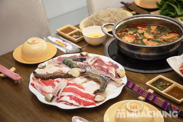 Lẩu Thái thập cẩm chua cay NH Bangkok Thái Cuisine - 12