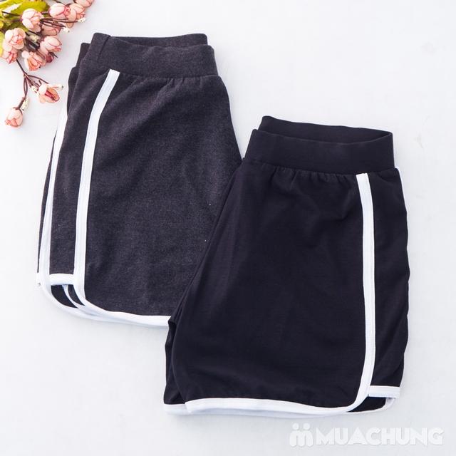02 quần sooc nữ chất cotton thoáng mát - hàng VN  - 10
