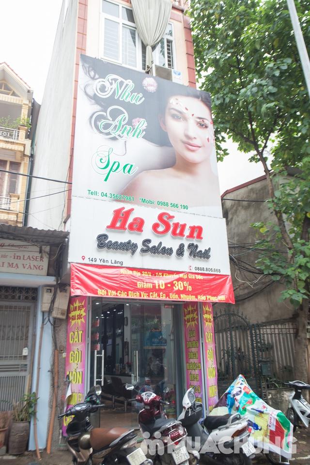Trọn gói làm tóc cao cấp tại Salon Tóc Ha Sun - 14