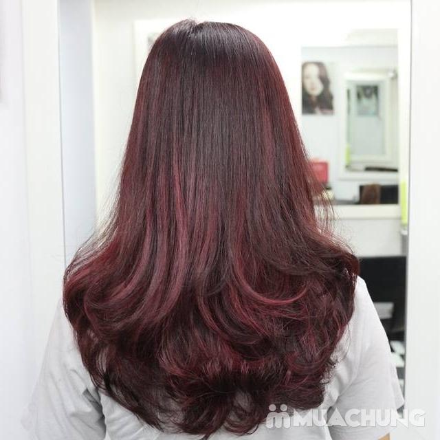 Trọn gói làm tóc cao cấp tại Salon Tóc Ha Sun - 4