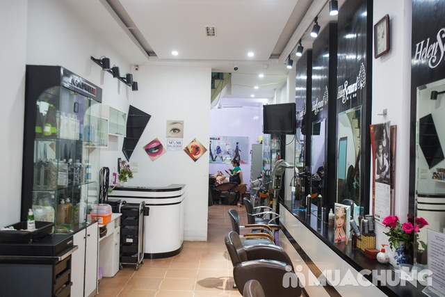 Trọn gói làm tóc cao cấp tại Salon Tóc Ha Sun - 13