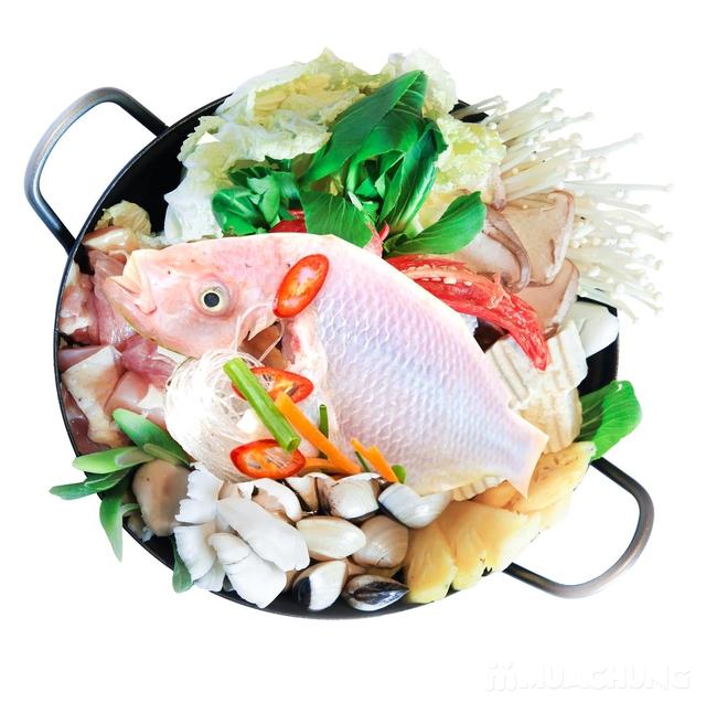 Buffet nướng & lẩu Hàn Quốc thượng hạng NH Sariwon - 9