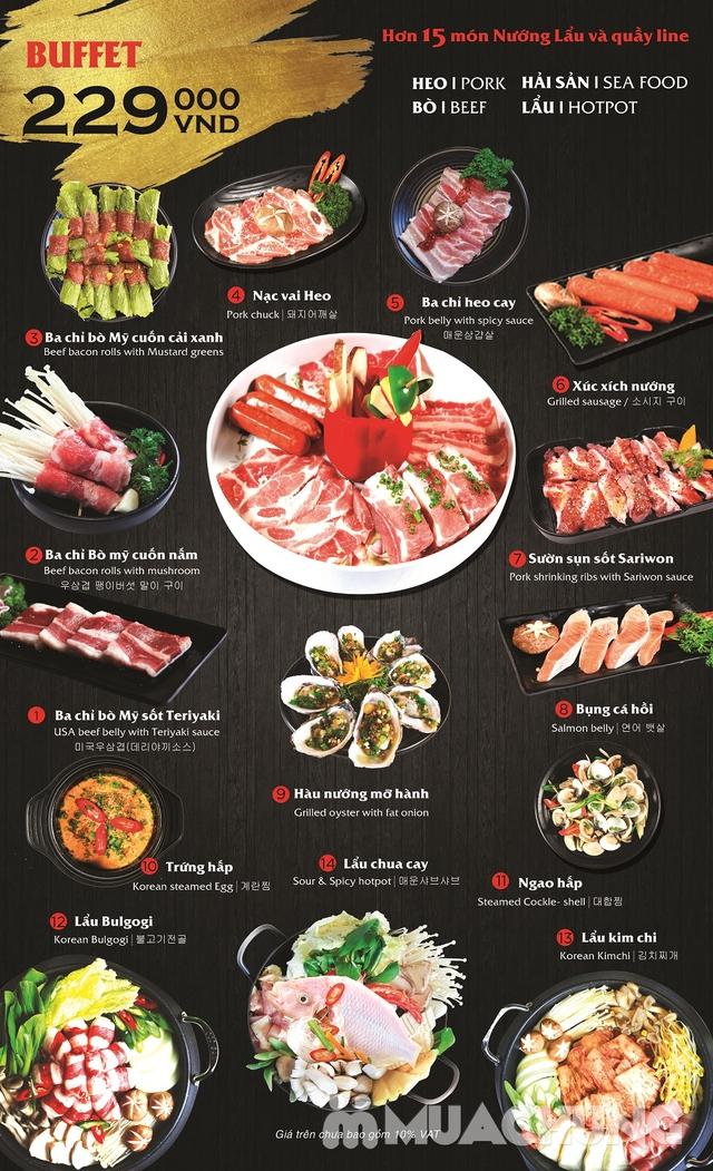 Buffet nướng & lẩu Hàn Quốc thượng hạng NH Sariwon - 10