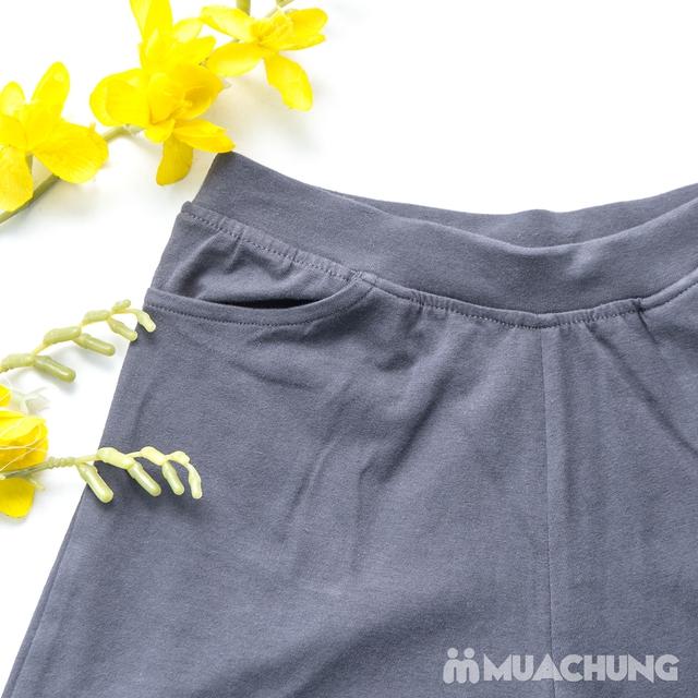 Combo 2 quần sooc nữ cotton mềm mát - 8