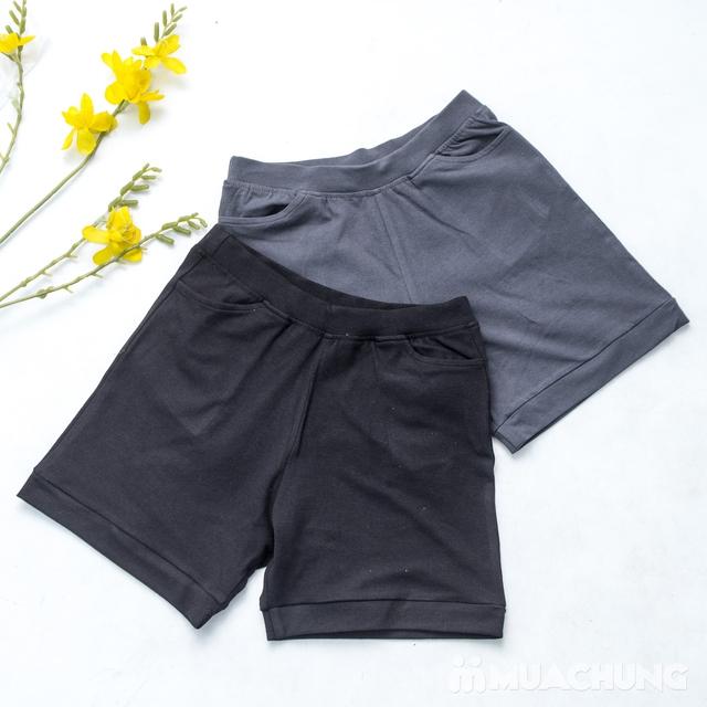 Combo 2 quần sooc nữ cotton mềm mát - 5