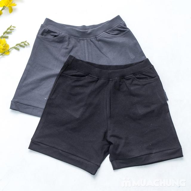 Combo 2 quần sooc nữ cotton mềm mát - 10