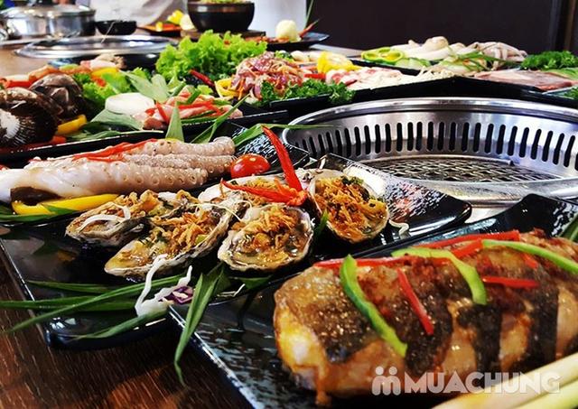 Buffet Nướng hải sản, thịt tươi ngon - Galbi BBQ - 1