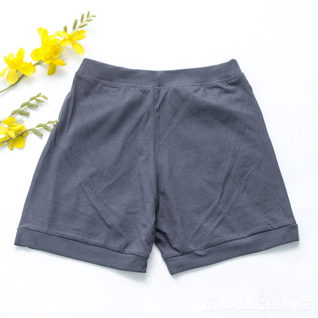 Combo 2 quần sooc nữ cotton mềm mát - 9