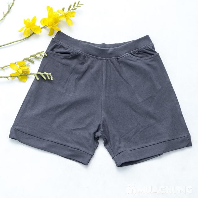 Combo 2 quần sooc nữ cotton mềm mát - 7