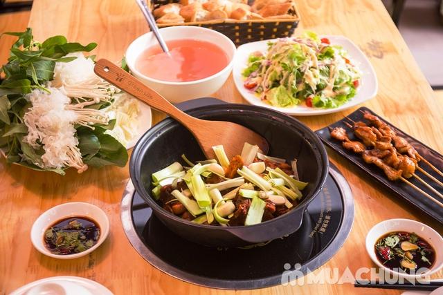 Set lẩu vịt khô và các món ngon tại NH Phong Quán cho 2 -3 người - 9