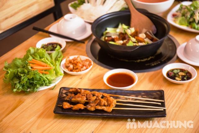 Set lẩu vịt khô và các món ngon tại NH Phong Quán cho 2 -3 người - 7