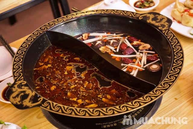 Lẩu uyên ương 2 ngăn + các món ăn kèm hấp dẫn 2N Nhà hàng Phong Quán - 11