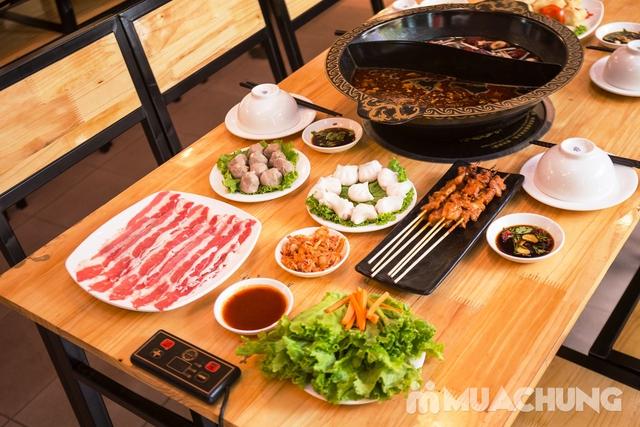 Lẩu uyên ương 2 ngăn + các món ăn kèm hấp dẫn 2N Nhà hàng Phong Quán - 10
