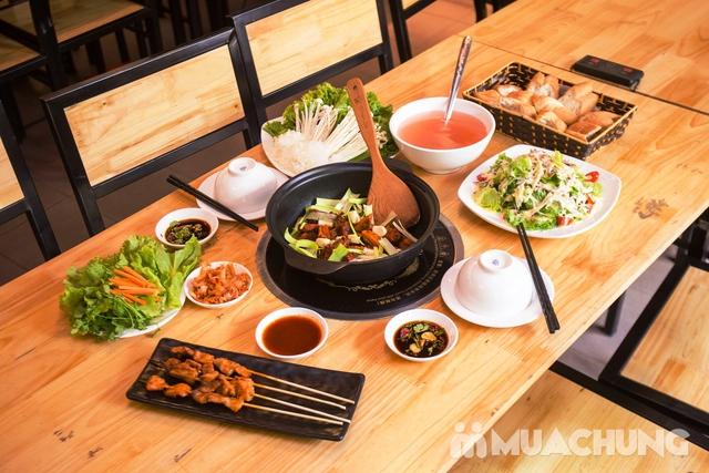 Set lẩu vịt khô và các món ngon tại NH Phong Quán cho 2 -3 người - 8
