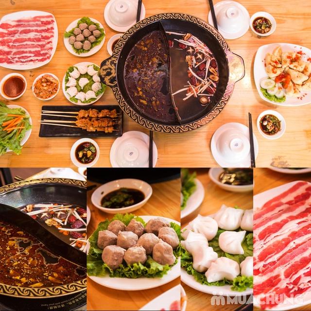 Lẩu uyên ương 2 ngăn + các món ăn kèm hấp dẫn 2N Nhà hàng Phong Quán - 7