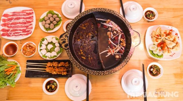 Lẩu uyên ương 2 ngăn + các món ăn kèm hấp dẫn 2N Nhà hàng Phong Quán - 8