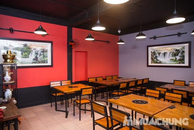 Lẩu uyên ương 2 ngăn + các món ăn kèm hấp dẫn 2N Nhà hàng Phong Quán - 36
