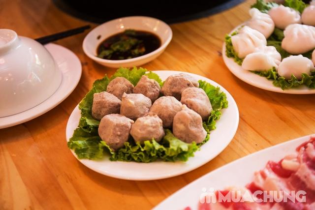 Lẩu uyên ương 2 ngăn + các món ăn kèm hấp dẫn 2N Nhà hàng Phong Quán - 15