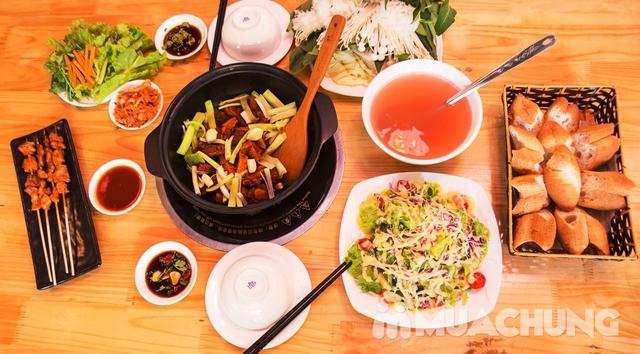 Set lẩu vịt khô và các món ngon tại NH Phong Quán cho 2 -3 người - 6