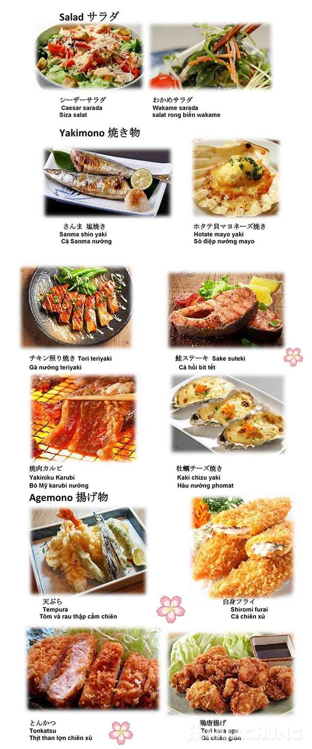 Buffet Nhật Ten Sushi menu cao cấp 420k Tặng Soda - 20