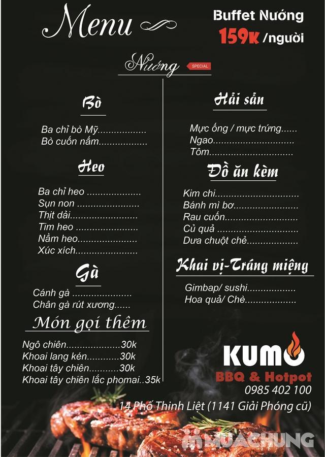 Butffet nướng chuẩn vị Hàn Kumo BBQ & Hotpot - 3