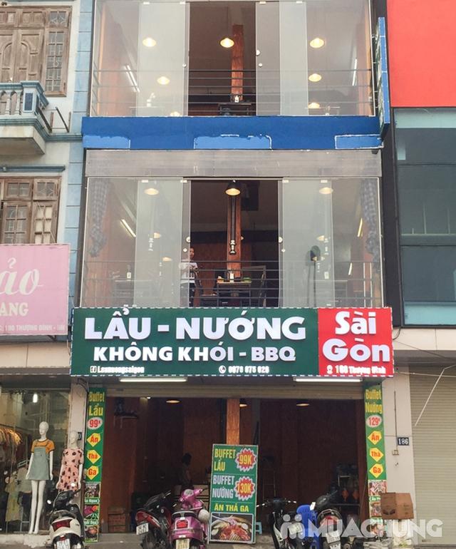 Buffet Nướng Hoặc Lẩu Ăn Thả Ga - Nhà Hàng Lẩu Nướng Sài Gòn - 46