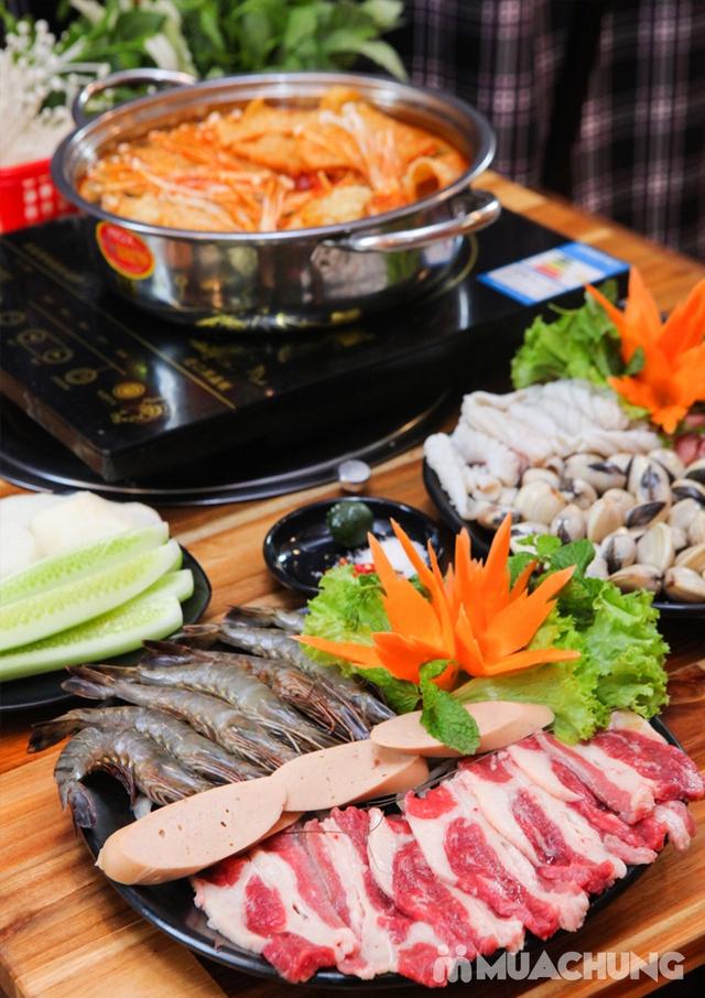 Buffet Nướng Hoặc Lẩu Ăn Thả Ga - Nhà Hàng Lẩu Nướng Sài Gòn - 22