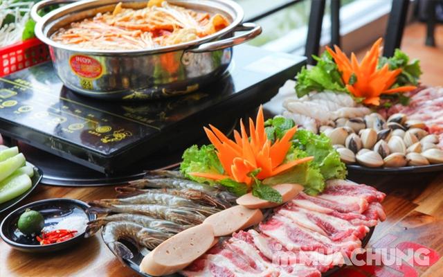 Buffet Nướng Hoặc Lẩu Ăn Thả Ga - Nhà Hàng Lẩu Nướng Sài Gòn - 21