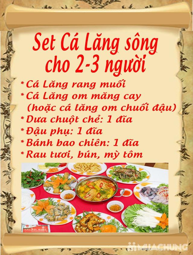 Set cá lăng cho 3-4 người Nhà hàng Lẩu Hội Quán - 2