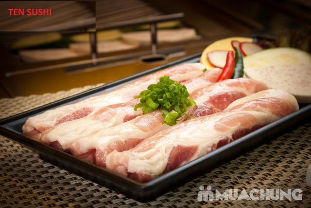 Buffet Nhật Ten Sushi menu cao cấp 420k Tặng Soda - 2
