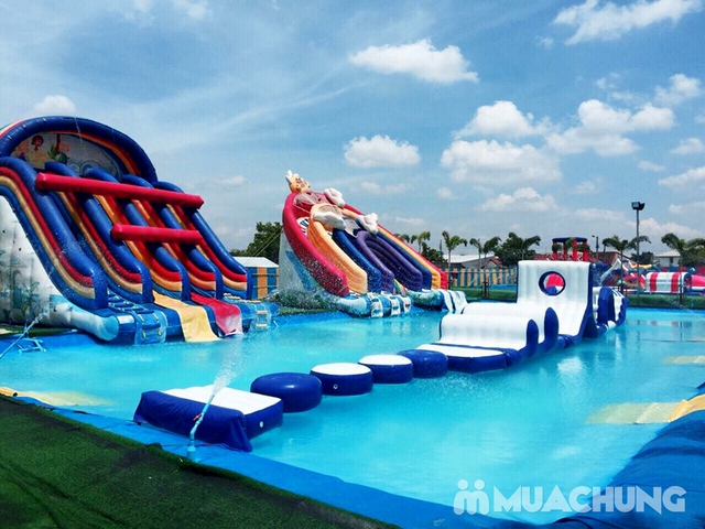 WATER FUN {NL}Vé trọn gói tham gia tất các trò chơi tại công viên nước phao đầu tiên và lớn nhất tại Việt Nam - 23