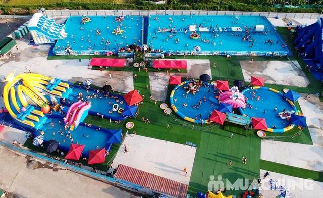 WATER FUN {NL}Vé trọn gói tham gia tất các trò chơi tại công viên nước phao đầu tiên và lớn nhất tại Việt Nam - 21