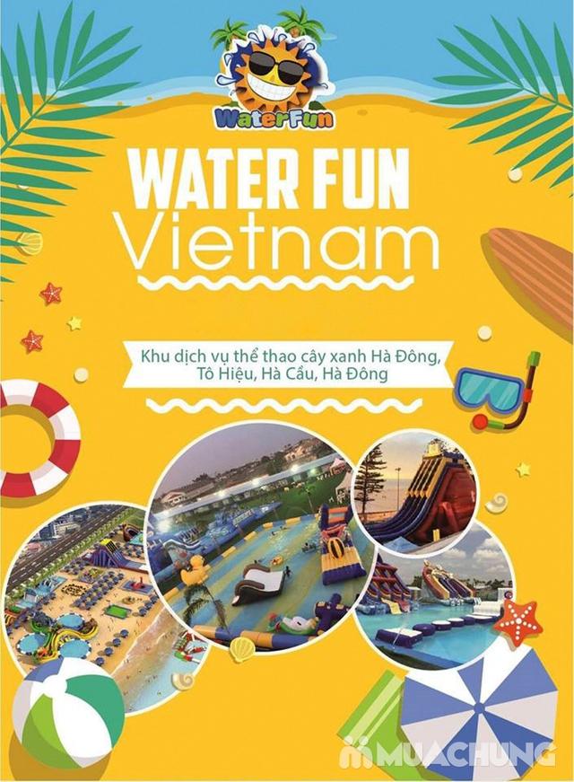 WATER FUN {NL}Vé trọn gói tham gia tất các trò chơi tại công viên nước phao đầu tiên và lớn nhất tại Việt Nam - 1