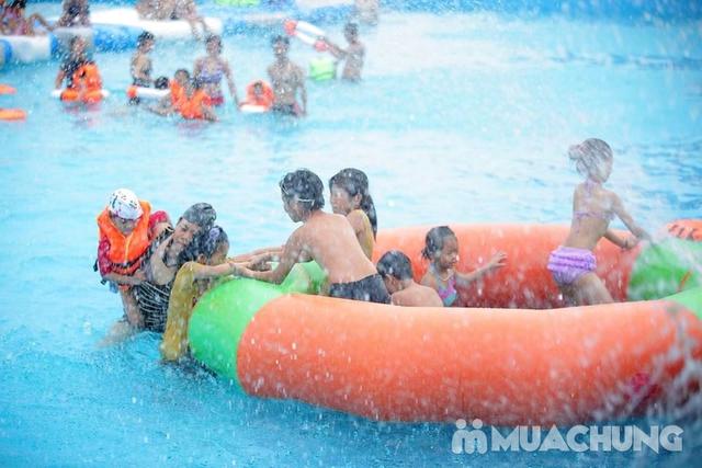 WATER FUN {NL}Vé trọn gói tham gia tất các trò chơi tại công viên nước phao đầu tiên và lớn nhất tại Việt Nam - 18