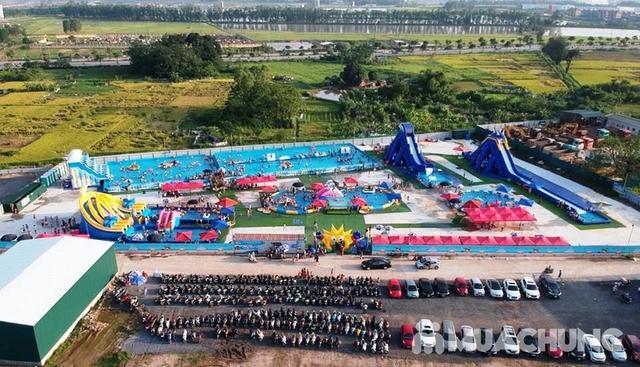 WATER FUN {NL}Vé trọn gói tham gia tất các trò chơi tại công viên nước phao đầu tiên và lớn nhất tại Việt Nam - 16