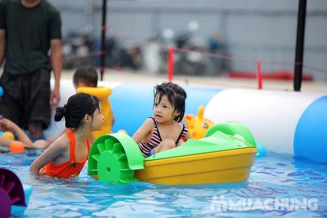 WATER FUN {NL}Vé trọn gói tham gia tất các trò chơi tại công viên nước phao đầu tiên và lớn nhất tại Việt Nam - 38