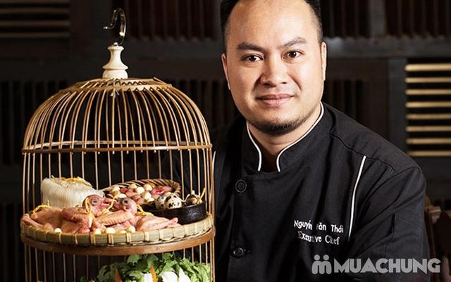 Buffet Lẩu Bò Nhúng Dấm Tại Bếp Quán - Chef Thái, Siêu Đầu Bếp 5* - 11