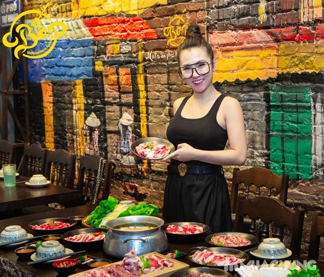 Buffet Lẩu Bò Nhúng Dấm Tại Bếp Quán - Chef Thái, Siêu Đầu Bếp 5* - 17