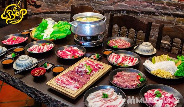Buffet Lẩu Bò Nhúng Dấm Tại Bếp Quán - Chef Thái, Siêu Đầu Bếp 5* - 16