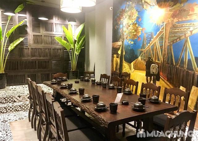 Buffet Lẩu Bò Nhúng Dấm Tại Bếp Quán - Chef Thái, Siêu Đầu Bếp 5* - 21