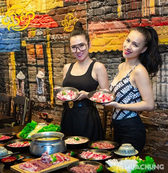 Buffet Lẩu Bò Nhúng Dấm Tại Bếp Quán - Chef Thái, Siêu Đầu Bếp 5* - 18